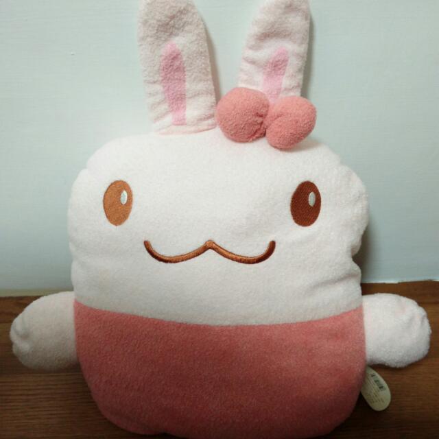 Hola 購入 可愛兔子 靠背 枕頭 坐墊 抱枕