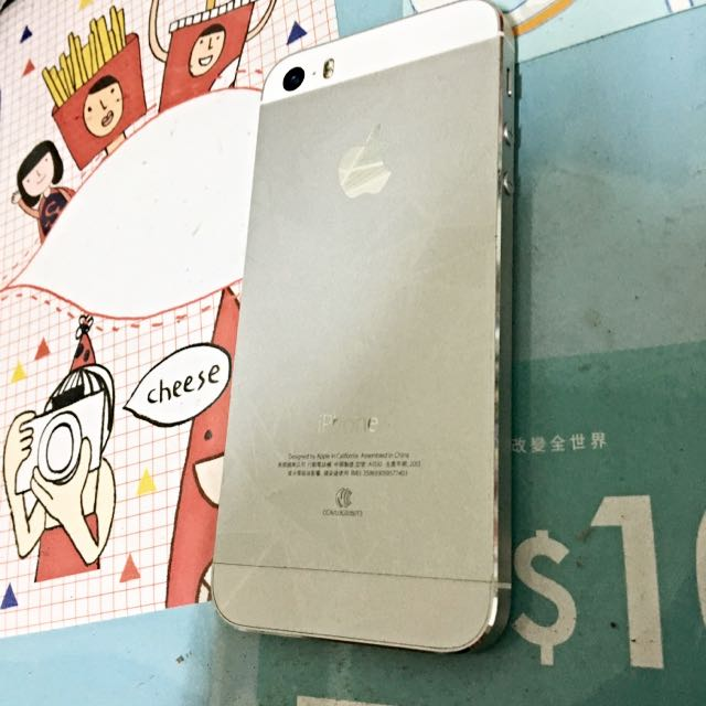 Iphone5s 16GB 銀色 功能正常 保存良好 使用不到一年半