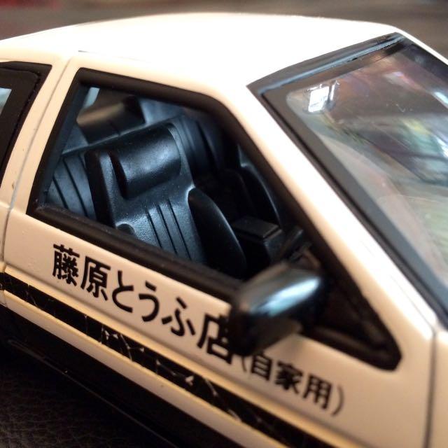 Reserved) Jada 1:24 Scale Toyota Trueno AE86 Initial D Model