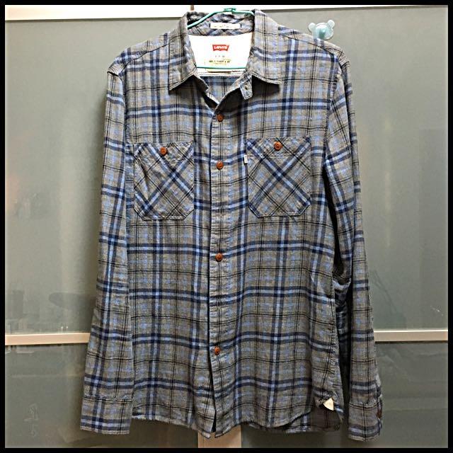 Levis格子襯衫(正品)