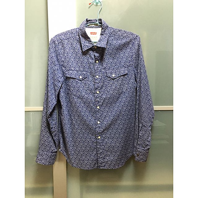 Levis襯衫(正品)男xs
