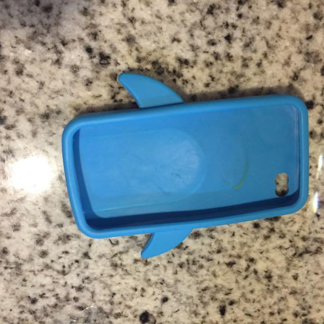 online retailer 79508 11e5a Light Blue Coloured Penguin Iphone4/4S Case