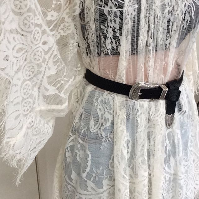 L-SPACE lace festival dress