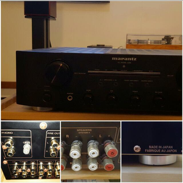 marantz pm ki pearl lite hifi stereo amplifier music media on carousell. Black Bedroom Furniture Sets. Home Design Ideas