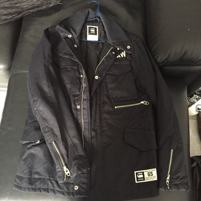 Men's Navy G-star Jacket