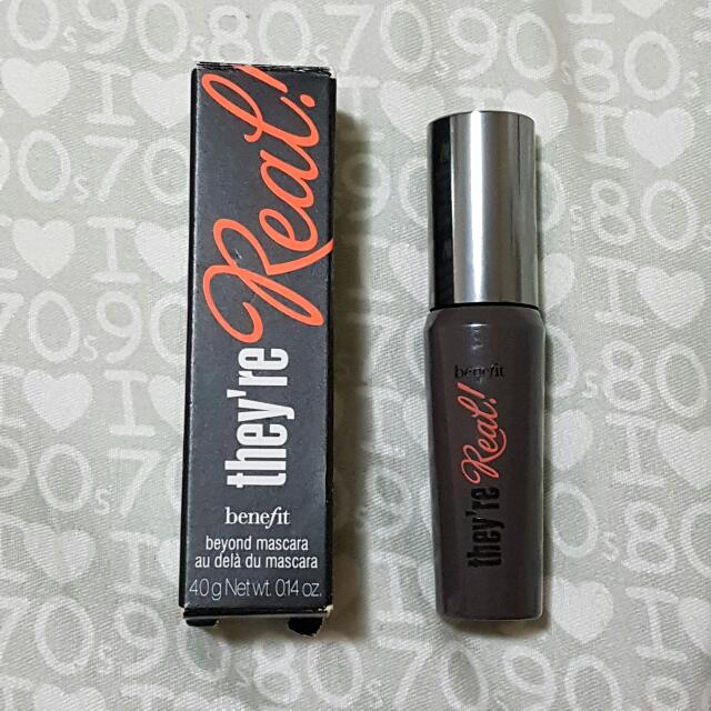 Mini Benefit They're Real! Mascara