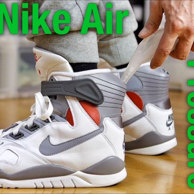 3c254c096c84 Nike Air Pressure Basketball Shoes Max Air Mag High Cut Back To The ...