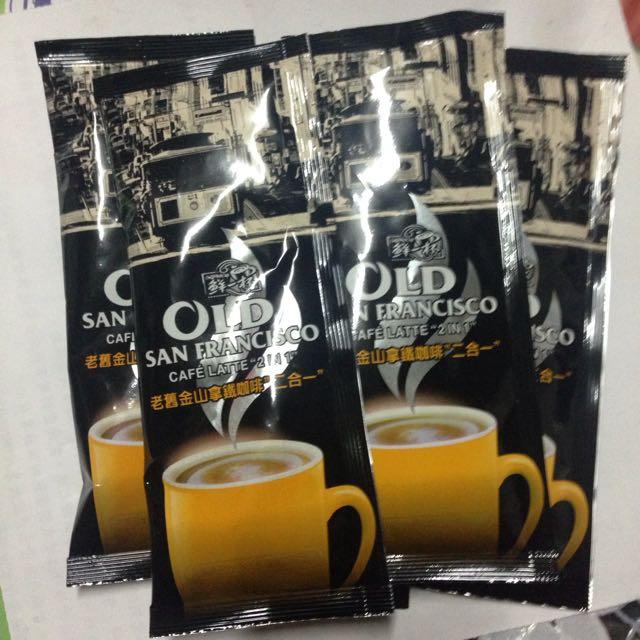 OLD 鮮一杯 老舊金山 二合一拿鐵咖啡 Costco