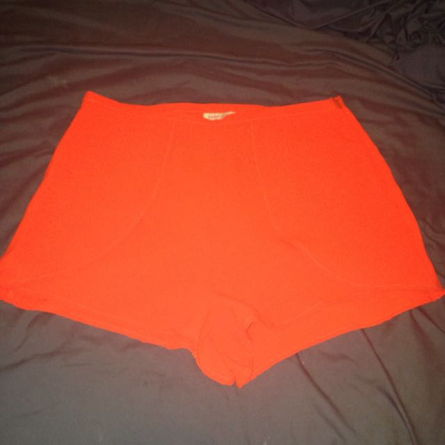 Paint It Red Shorts