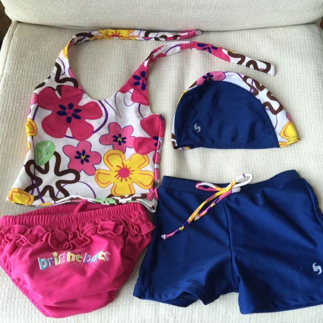 Pre-loved Baby Girl's Bathing Suit
