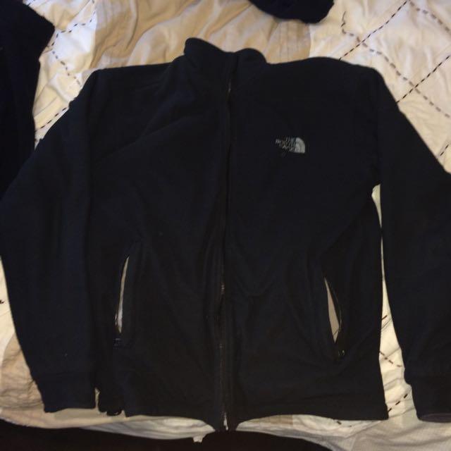 Reversible North Face Polar Fleece Jacket