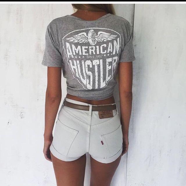 Sabo Skirt American Hustler T-shirt XS