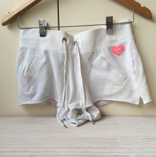 Vs White Pj Shorts