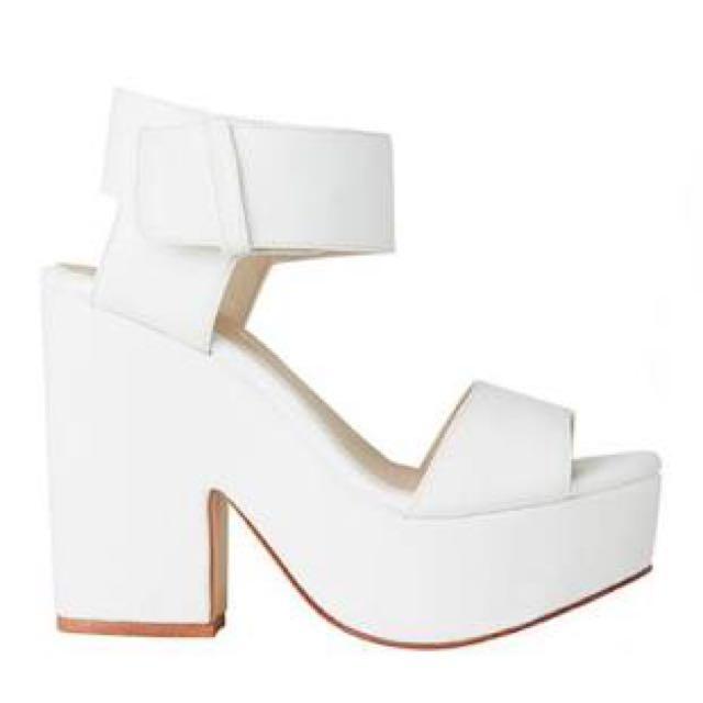 Wedges - White