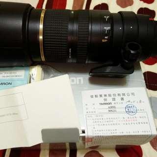 [售]騰龍 SP 70-200 2.8 Di VC USD 公司貨