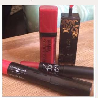 NARS Tarte Red Lip Bundle