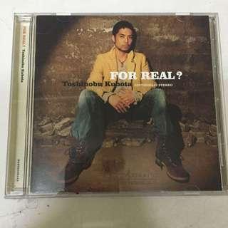 """""""For Real"""" Music Album From Toshinobu Kubota"""