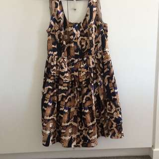 Portmans Snakeskin Dress