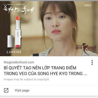 Laneige 2 Tone Lip Stick. Latest From Seoul! Song Hye Kyo Lipstick In Descendents Of The Sun!