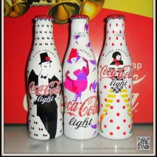Coca-Cola Marc Jacob Aluminium Bottle