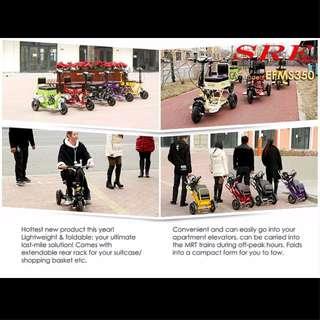 🚚 SRE EFMS350 Electric Folding Mobility Scooter, PRE-ORDER SPECIAL OFFER!