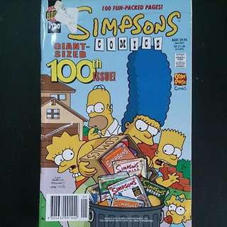 Simpsons Comics ~ #100 ~ Collector's Issue