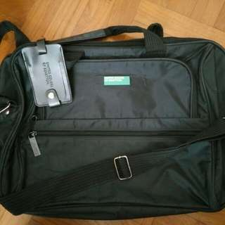 BN INSTOCK 101% Authentic Branded United Colors Of Benetton Laptop Bag