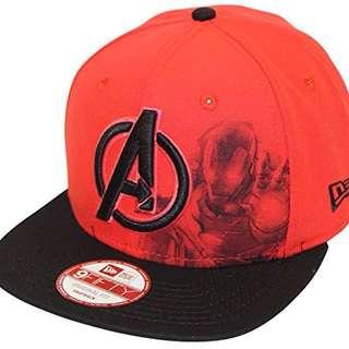 New Era Avengers Iron Man SnapBack OSFM