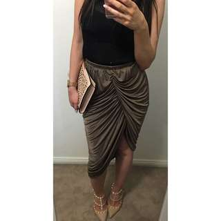 Sheike Gathered Skirt