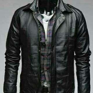 Jaket Semi Kulit Full Style