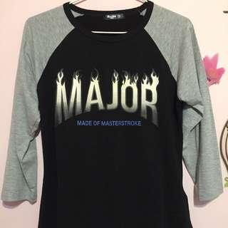 Major Made火焰上衣