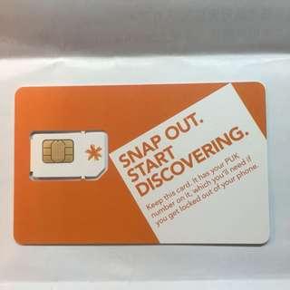 Spark 30日紐西蘭預付卡 全新未使用