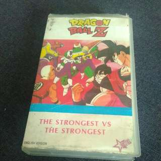 (1990) Dragon Ball Z VHS Tape