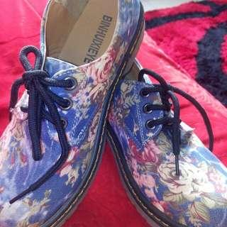 Koreans Flora Style Shoes
