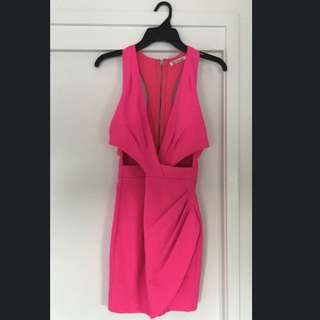 Wild Orchid Bodycon Dress Pink Size 10