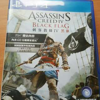 Ps4. Assassin Black Flag. 刺客教條 黑旗