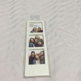 Typo Photo Frame Strip