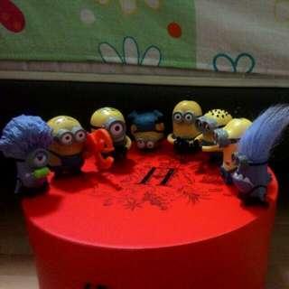 McDonald's Minion Toys