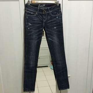 Levi's 低腰直筒牛仔褲
