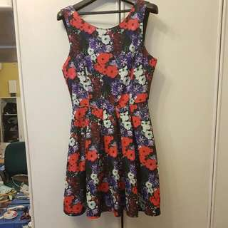 Price Lowered - Forever 21 Floral Dress