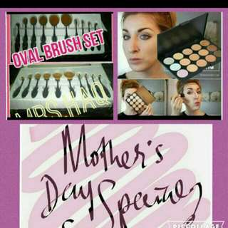 Mothers Day Special Preorder $35.00 1set Oval Brush Only $40.00 Oval Brush Set+15cols Concealer. Serious Buyer Pm Pls