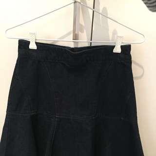 Dark Denim Skirt- Country Rd