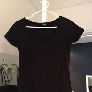 Black Dotti Tshirt