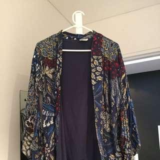 Zara Kimono Style Jacket