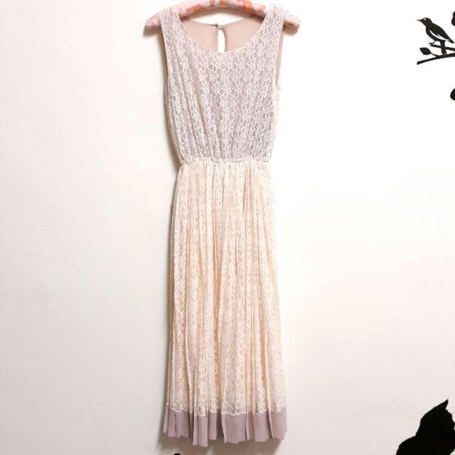 含運-(代售)蕾絲長洋裝