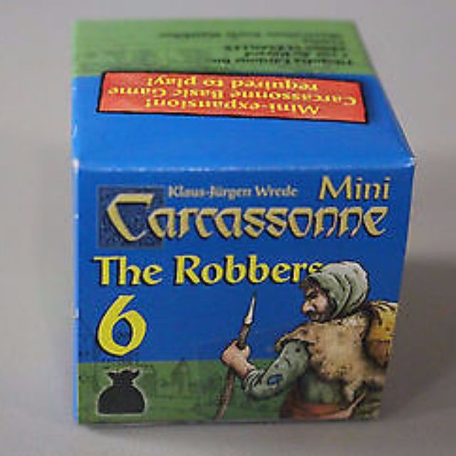 Carcassonne mini expansion 6 - robbers