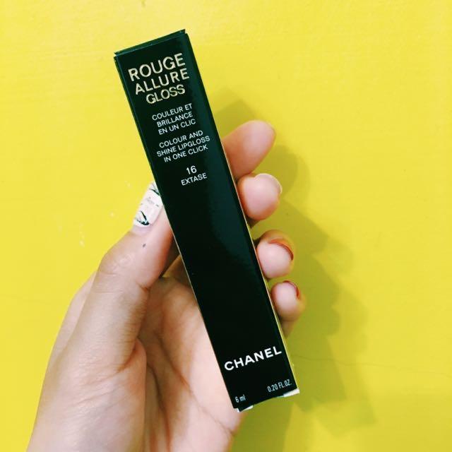 Chanel超炫燿釉光蜜唇精萃#16
