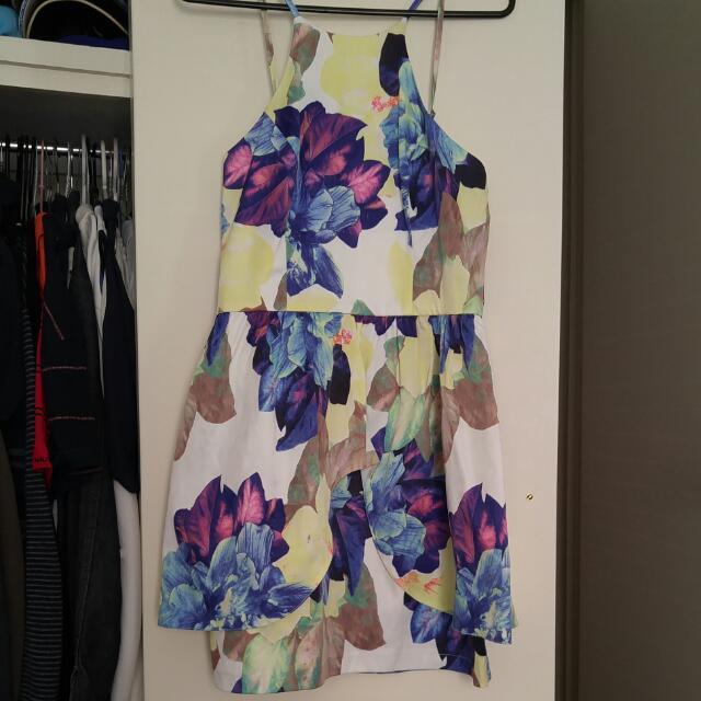Dotti Floral Dress - Size 10