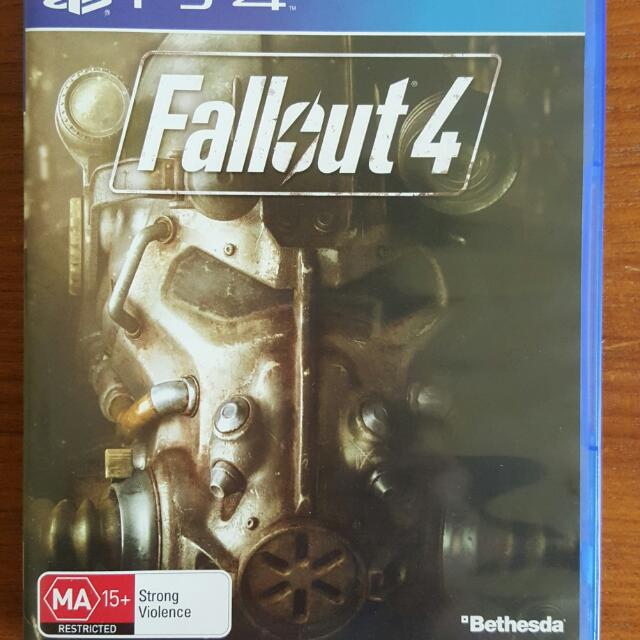 Fallout 4 PS4 as Good As New