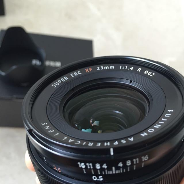 Fuji Fujinon XF 23mm F1.4 Lens (Pending)
